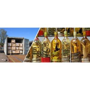 Компания BSSS, член альянса АСЕХ в Новороссийске, отправила 5 контейнеров с водкой в Лаос