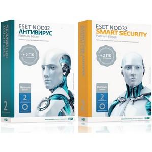 Три ПК. Два года. Одно решение: Eset NOD32 Platinum Edition