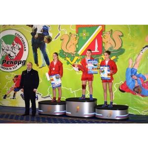 Начальник УВД Зеленограда поздравил самбистов с победой