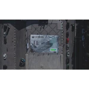 Сбербанк в Санкт-Петербурге включил в Книгу рекордов России самое большое изображение карты «МИР»