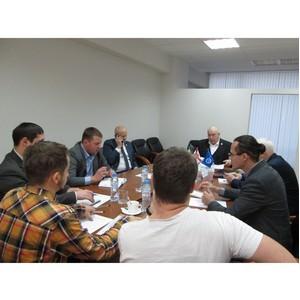 Заседание совета молодых ученых в Свердловском РО СоюзМаш России