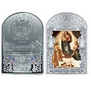 Килограммовая серебряная монета представлена в филиале ОАО Банк ВТБ в г. Томск