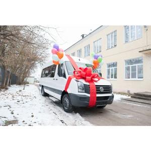 Purina поздравила С Новым Годом воспитанников Ермолинской школы-интерната