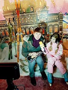 Miki House и Piccolo TV приняли участие в открытии ГУМ-катка