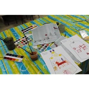 Активисты ОНФ провели урок живописи в центре детского творчества Тюмени