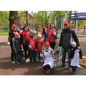 В Новослободском парке прошел «Сиреневый день» при поддержке компании «Нестле»