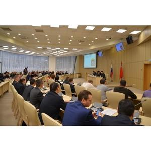 В Правительстве Московской области обсудили внедрение и развитие ЕИАС ЖКХ