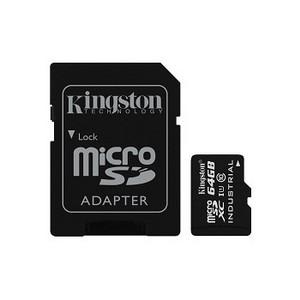 Компания Kingston представляет карту памяти для использования в промышленных отраслях