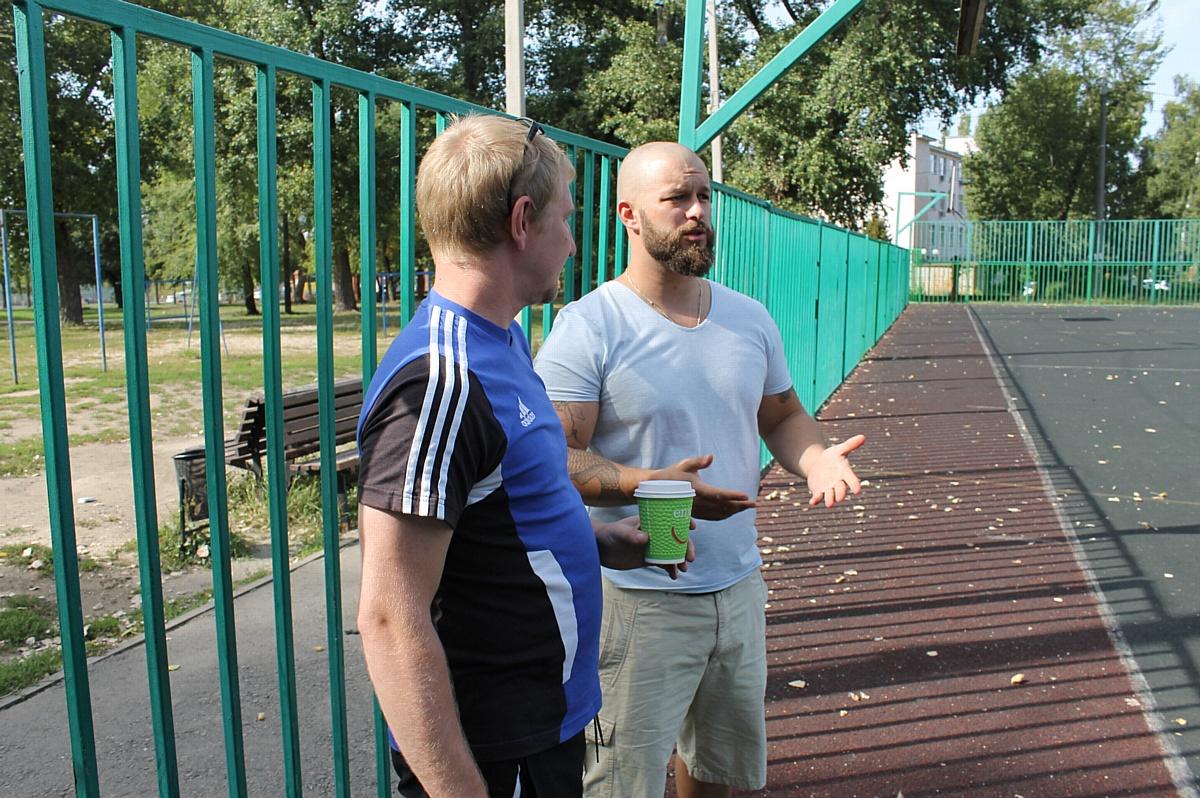 Воронежские активисты «Молодежки ОНФ» добиваются реконструкции футбольного поля в парке «Южный»