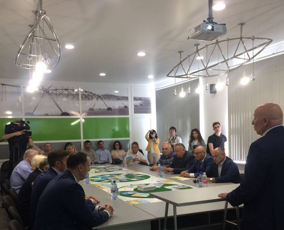 Сегодня в Саратове открылся Центр инновационных технологий в мелиорации