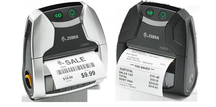 Новые настольные и мобильные принтеры Zebra ZD420, ZD620, ZQ320 поступают в продажу