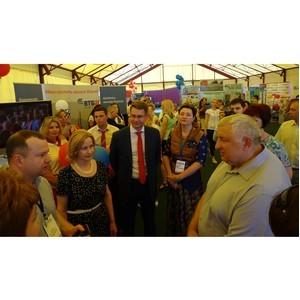 Банк ВТБ представил на Курской Коренской ярмарке розничное направление бизнеса