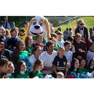В Москве состоялся фестиваль детского футбола при поддержке «Гослото»