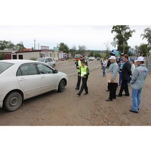 ОНФ в Амурской области в преддверии Дня знаний провел акцию по безопасности дорожного движения