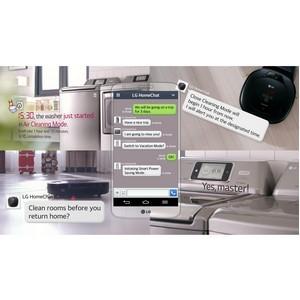 «Умные устройства» от LG Chat для общения с пользователями через мобильные мессенджеры–на CES 2014