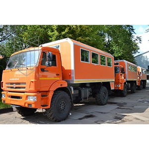 Вахтовые автобусы марки «МПЗ» встают на вахту ОАО «Лукойл»