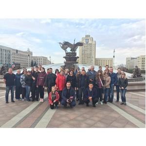 Работники Тамбовэнерго познакомились с историческими и памятными местами Беларуси