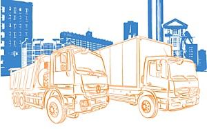 Совместная программа Европлан и Mercedes-Benz Trucks: грузовики в лизинг от 47 000 рублей в месяц