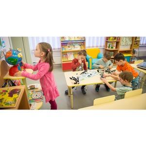 На Мосфильмовской улице построили детский сад на 125 мест