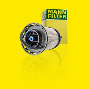 Дизельные фильтры Mann-Filter с усовершенствованной системой сепарации воды