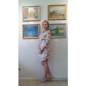 «Позитивная живопись» - выставка Оксаны Новиковой
