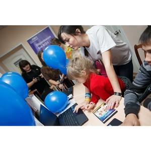 В трех российских городах состоялось открытие детских компьютерных классов