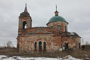 В Рузском районе восстановлена Церковь Обновления храма Воскресения Христова в деревне Воскресенское