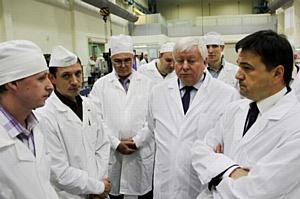 Губернатор Московской области посетил Красногорский завод им. С.А. Зверева