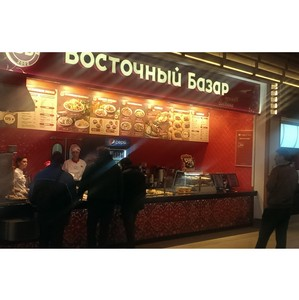 В петербургском ТРЦ «Европолис» открылись сразу два сетевых ресторана: «Сбарро» и «Восточный Базар»
