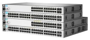 Поступление управляемых граничных коммутаторов HP 2530 для конвергентных сетей