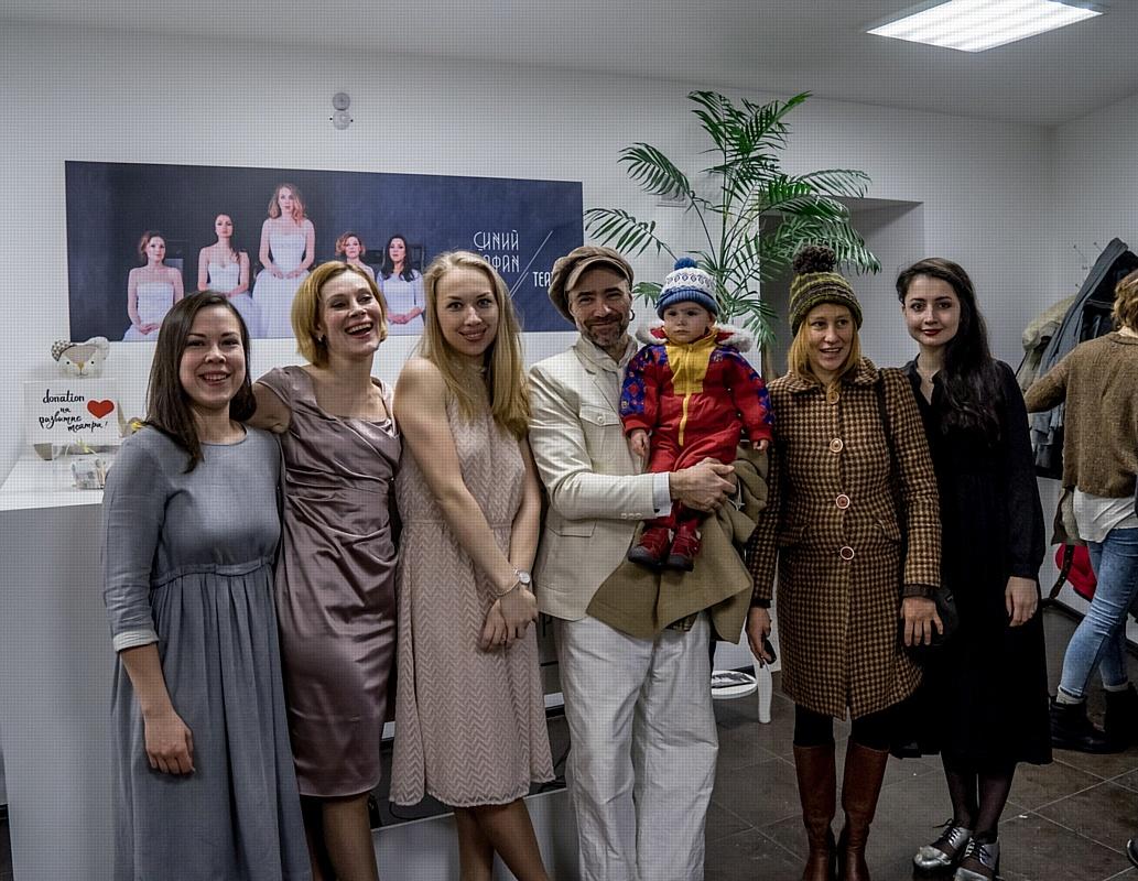 """""""Синий Сарафан"""" открыл новое арт-пространство в Петербурге."""