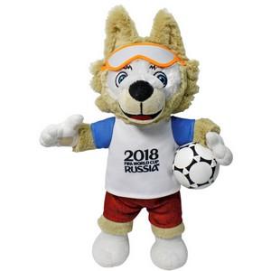 Определен официальный производитель символа Чемпионата мира по футболу FIFA 2018 в России™