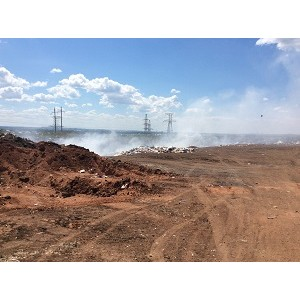 """ќЌ' в ќренбургской области требует ликвидировать незаконную свалку мусора в селе """"атарска¤ аргала"""