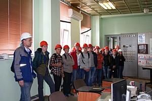Энергетики Т Плюс познакомили первокурсников Волгатеха с работой Йошкар-Олинской ТЭЦ-2