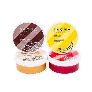 Обновленная линейка сахарных паст Aroma Line для СПА шугаринга от Saona Cosmetics