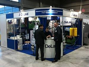Компания «ДеЛаваль» приняла участие в выставке «АгроКомплекс-2014»