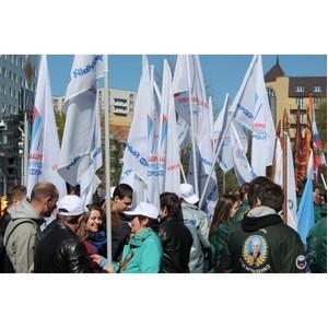 Тюменские активисты ОНФ приняли участие в праздновании Дня Великой Победы