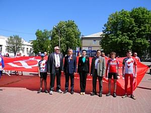 Плац-парад третьеклассников прошел в Миллеровском районе