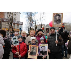 Активисты ОНФ в Коми приняли участие в праздничных мероприятиях, посвященных Дню Победы