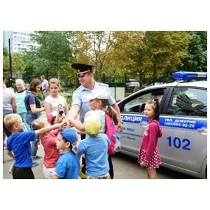 Полицейские патрульно-постовой службы пришли в гости к юным зеленоградцам