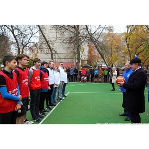 Валерий Лидин выполнил обещание по реконструкции баскетбольной площадки в Пензе