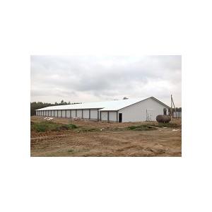 Эффективное решение из ЛСТК для зданий птицефабрики в Ленинградской области