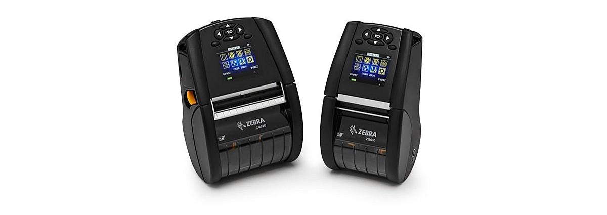 Новые мобильные принтеры Zebra ZQ610 и ZQ620 серии ZQ600 для печати этикеток и чеков