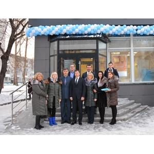 Банк «Открытие» открыл в Новосибирске еще один офис в новом формате