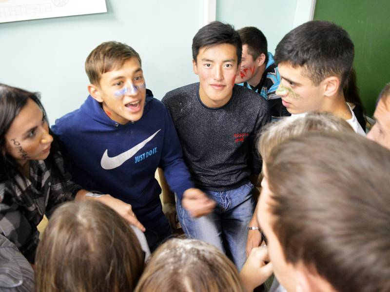 11 групп первокурсников Института преодолели первый этап посвящения в студенты - «Студенческий quest»
