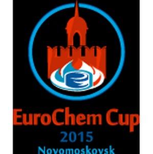 В Новомосковске состоялось открытие международного детского хоккейного турнира Eurochem Cup 2015