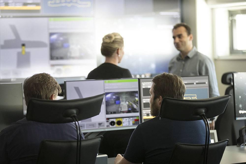 Контрольно-диспетчерский пункт Epiroc Control Tower — цифровая шахта в действии