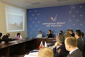 Челябинские активисты Народного фронта обсудили проблему смертности на дорогах региона