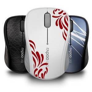 RAPOO представила стильную беспроводную мышь 3100 p