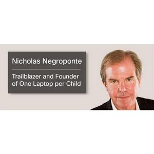 Сетевой первопроходец Николас Негропонте об эволюции технологий в области образования